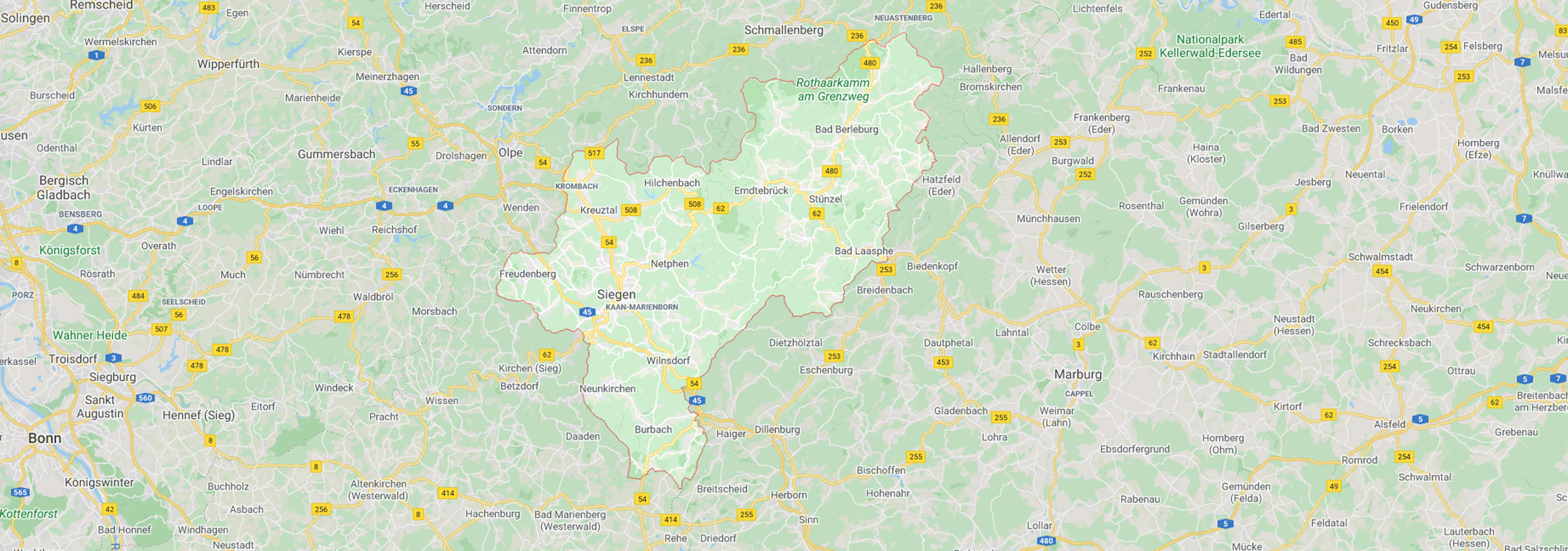 Kreis Siegen Wittgestein